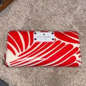 Kate Spade Wallet - Red & Fun